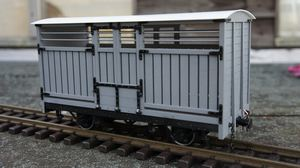 Isle Of Man Covered Cattle Wagon Kit